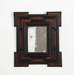 Northern Italian Baroque Walnut and Ebonized Mirror - 2093290