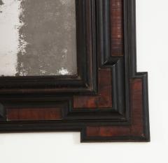 Northern Italian Baroque Walnut and Ebonized Mirror - 2093291