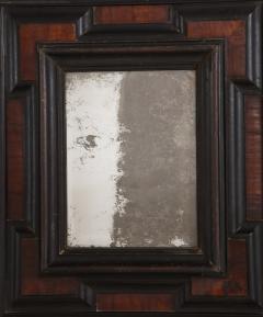 Northern Italian Baroque Walnut and Ebonized Mirror - 2093292