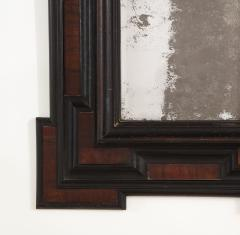 Northern Italian Baroque Walnut and Ebonized Mirror - 2093294