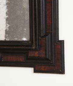 Northern Italian Baroque Walnut and Ebonized Mirror - 2093296