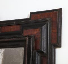 Northern Italian Baroque Walnut and Ebonized Mirror - 2093299