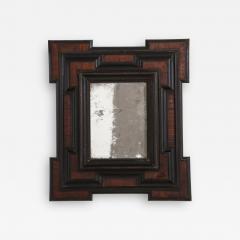 Northern Italian Baroque Walnut and Ebonized Mirror - 2094494