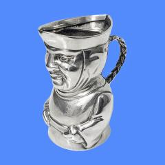 Novelty Sterling Silver Toby Cream Jug London 1882 Thos Smiley - 1946828