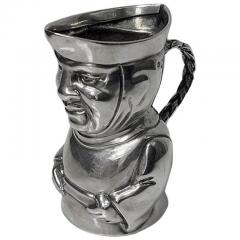Novelty Sterling Silver Toby Cream Jug London 1882 Thos Smiley - 1946831