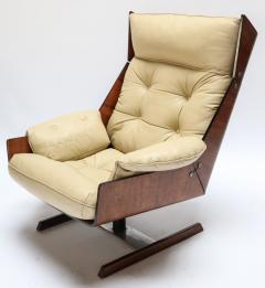 Novo Rumo Pair of Novo Rumo 1960s Brazilian Jacaranda Lounge Chairs - 497590