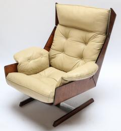 Novo Rumo Pair of Novo Rumo 1960s Brazilian Jacaranda Lounge Chairs - 497594