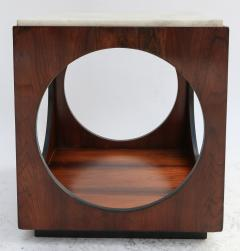 Novo Rumo Pair of Novo Rumo Brazilian 1960s Jacaranda Side Tables - 497449