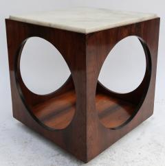 Novo Rumo Pair of Novo Rumo Brazilian 1960s Jacaranda Side Tables - 497451