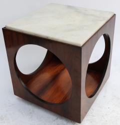 Novo Rumo Pair of Novo Rumo Brazilian 1960s Jacaranda Side Tables - 497454