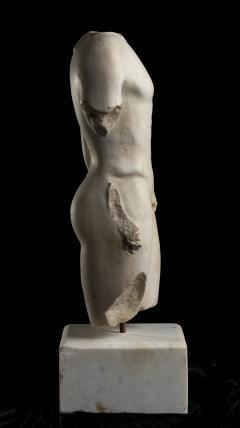 Nude Figurative Sculpture Grand Tour White Statuary Marble - 2075391