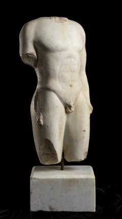 Nude Figurative Sculpture Grand Tour White Statuary Marble - 2075393