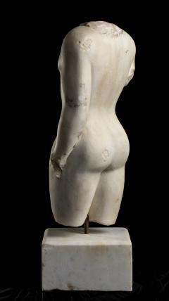Nude Figurative Sculpture Grand Tour White Statuary Marble - 2075396