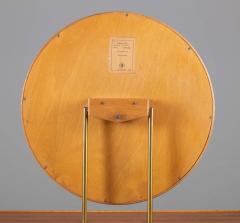 Nybro Fr seke Swedish Vanity Table in Teak Oak and Brass by AB Nybrofabriken - 1284953