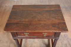 Oak Bobbin Turned Table - 2080766