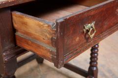 Oak Bobbin Turned Table - 2080772