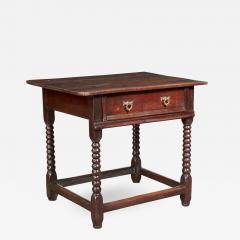 Oak Bobbin Turned Table - 2082625