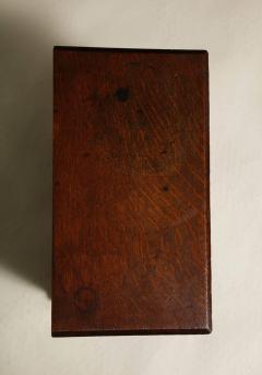 Oak Gothic Revival Specimen Cabinet - 660163