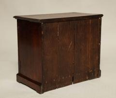 Oak Gothic Revival Specimen Cabinet - 660165