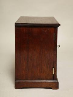 Oak Gothic Revival Specimen Cabinet - 660166