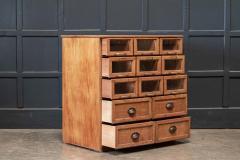 Oak Haberdashery Bank of Drawers - 2070461