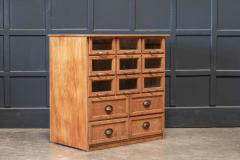 Oak Haberdashery Bank of Drawers - 2070463