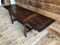 Oak Refectory Table with Extensions 17th Century - 1040674