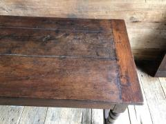 Oak Refectory Table with Extensions 17th Century - 1040679