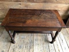 Oak Refectory Table with Extensions 17th Century - 1040681