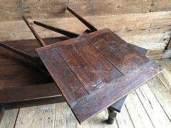Oak Refectory Table with Extensions 17th Century - 1040683