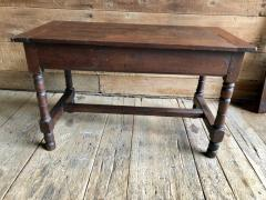 Oak Refectory Table with Extensions 17th Century - 1040684