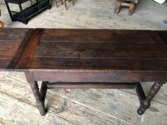 Oak Refectory Table with Extensions 17th Century - 1040686