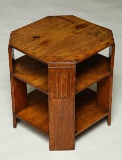 Octagonal End Table - 660037
