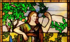 Offered by ANTIQUE AMERICAN STAINED GLASS WINDOWS - 1101448