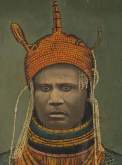 Ogho of Ozoro Portait of Uku Akolopolo Akenzua II Oba of Benin 1933 1978  - 1914313