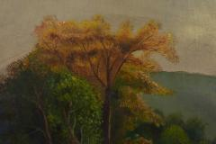 Oil on Canvas Hudson Valley River School Painting  - 944528