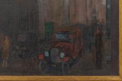 Oil on Canvas Painting of St Marks Church in Philadelphia by Yarnall Abbott - 1233129