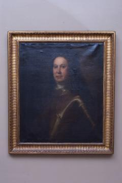 Oil on Canvas Portrait of a Man in Armour - 1205387