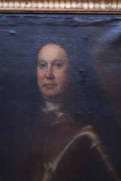 Oil on Canvas Portrait of a Man in Armour - 1205388