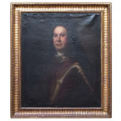 Oil on Canvas Portrait of a Man in Armour - 1205391