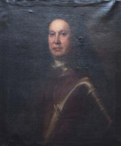Oil on Canvas Portrait of a Man in Armour - 1205526
