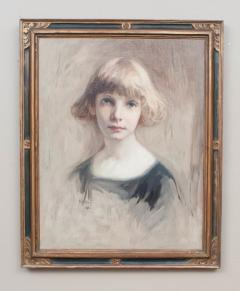 Oil on Canvas Young Girl - 750611