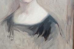 Oil on Canvas Young Girl - 750612
