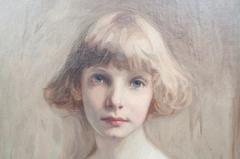 Oil on Canvas Young Girl - 750616