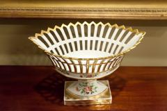 Old Paris Porcelain Reticulated Compote - 753771
