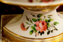 Old Paris Porcelain Reticulated Compote - 753777
