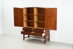 Ole Wanscher Ole Wanscher Arched Top Mahogany Cabinet Denmark - 1227456