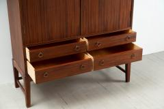 Ole Wanscher Ole Wanscher Arched Top Mahogany Cabinet Denmark - 1227457