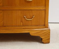 Ole Wanscher Ole Wanscher Elm Wood Tall Bow Front Chest Of Drawers Circa 1950s - 1995999
