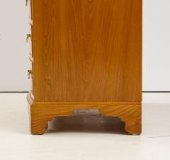Ole Wanscher Ole Wanscher Elm Wood Tall Bow Front Chest Of Drawers Circa 1950s - 1996002